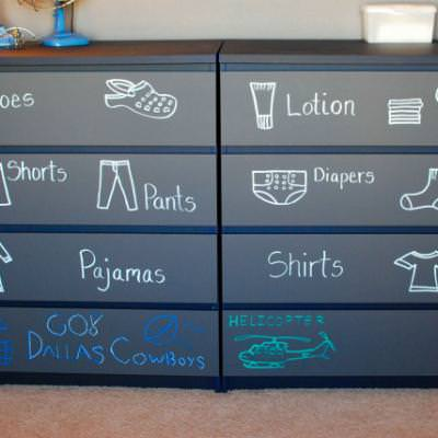 Toddler Room Dresser {Getting Dressed}