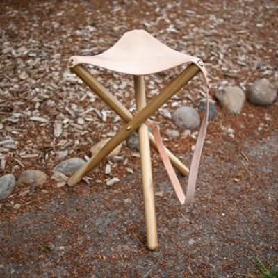 Tripod Camping Stool {how-to}