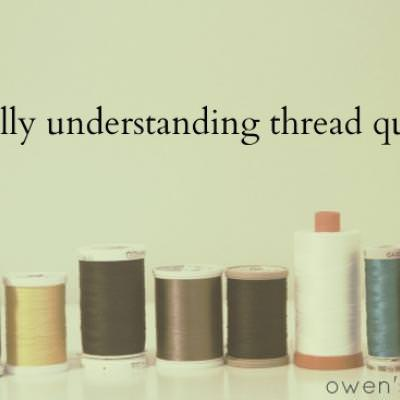 Understanding Thread Quality {Thread}