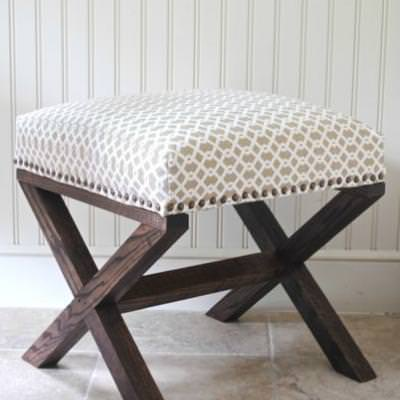 how to make a padded bench