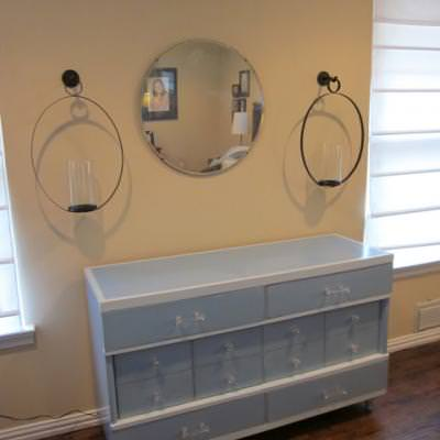 Vintage Dresser Makeover {Repainting Furniture}