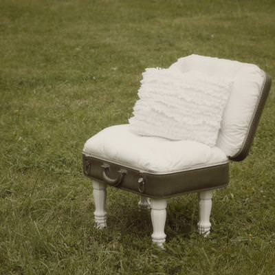 Vintage Suitcase Chair {Occasion Chair}