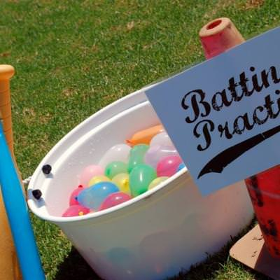 Water Balloon Baseball {Outdoor Water Games}