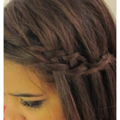 Waterfall Twist Hairstyle {Hairstyles}