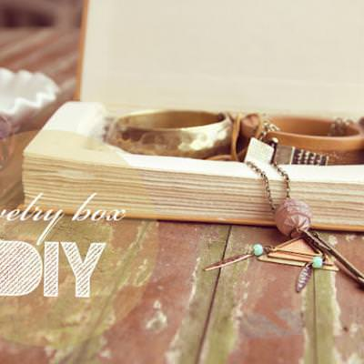 Whimsical Jewelry Box {Decorative Boxes}
