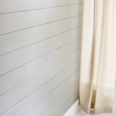 Wood Plank Wall Tutorial {Wood Paneling}