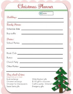 Christmas Party Planner