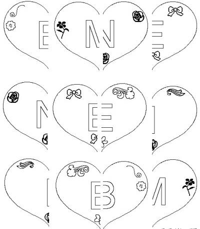 Broken Hearts Printable Game