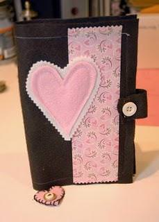 Felt Valentine Folder w/ Coupons & Music CD