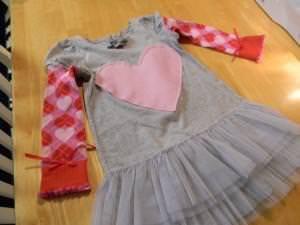 How To Make A Cute Valentines Dress {Tutorial}