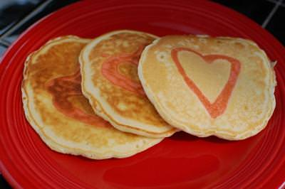 Love Note in a Pancake