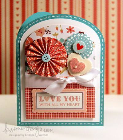 Love You With All My Heart Card {How-To}