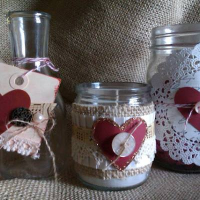 Valentine Glass Trio